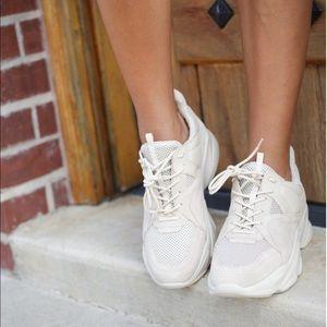 Steve Madden Movement White Chunky Sneakers